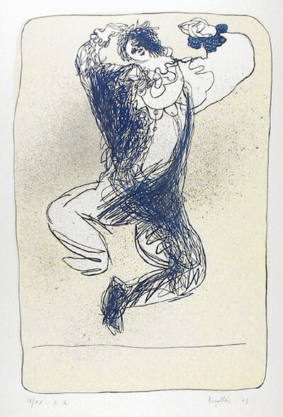 Juan Ripollés, 'Harlequin Leaping', 1971