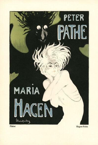 """Walter Schnackenberg, '""""Shadow & Light"""", Kostume, Plakate und Decorationen', 1920"""