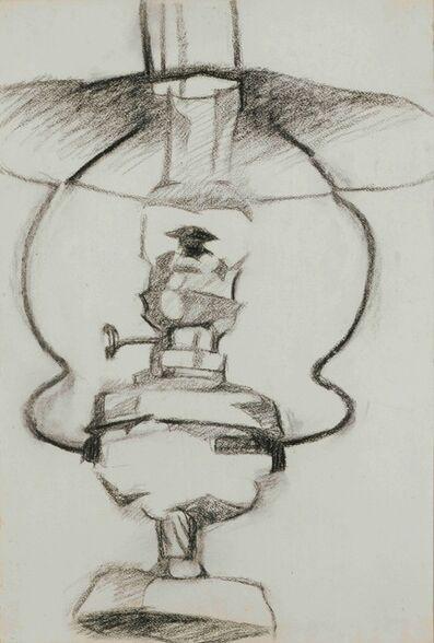 Juan Gris, 'La lampe à pétrole', ca. 1910