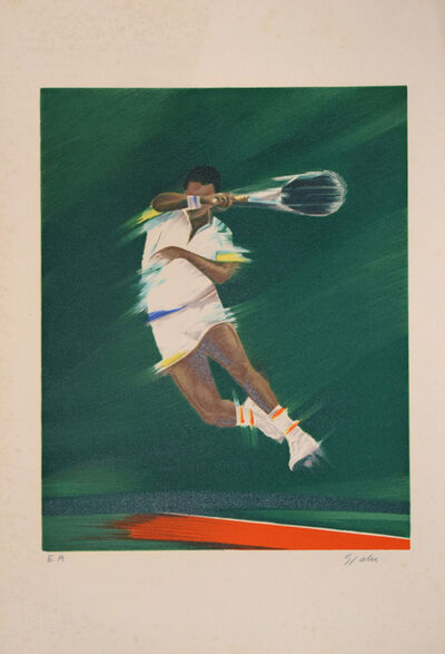 Victor Spahn, 'Tennis Player', ca. 1980