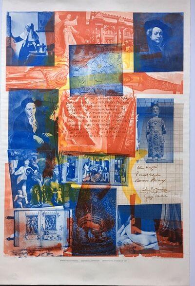 Robert Rauschenberg, 'Centennial Certificate ', 1970