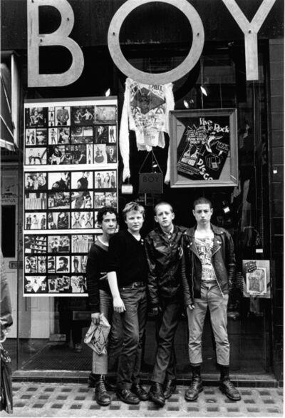 Janette Beckman, 'Boy, King's Road, London', 1979