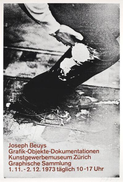 Joseph Beuys, 'Graphik - Objekte - Dokumentationen Poster', 1973