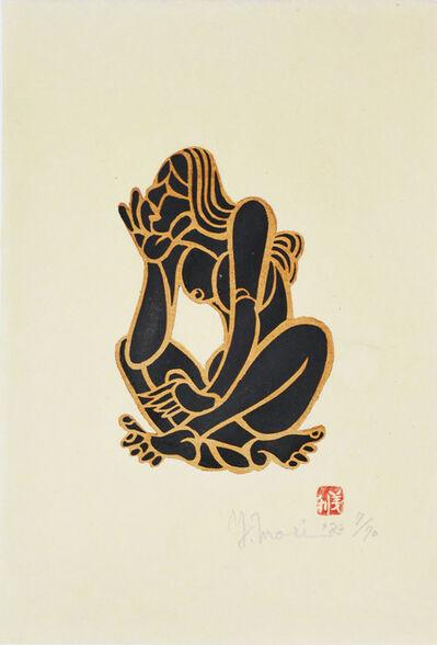 Yoshitoshi Mori, 'Black nude (A)', 1983