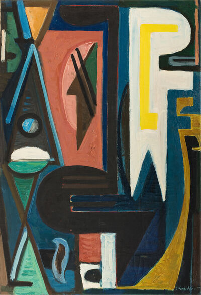 Gérard Schneider, 'Opus 271', 1945