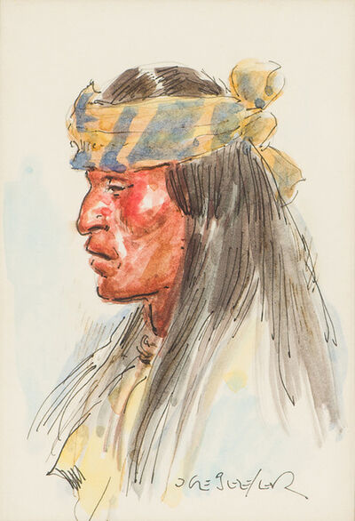 Joe Beeler, 'Apache Scout', 1988