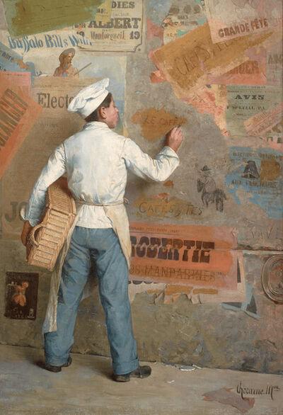Paul Chocarne-Moreau, 'Jeune Boulanger Manifestant ses Opinions Politiques', ca. 1912