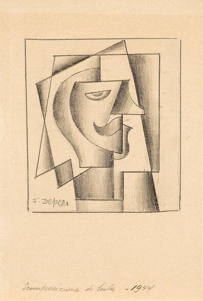 Fortunato Depero, 'Scomposizione di testa', 1934