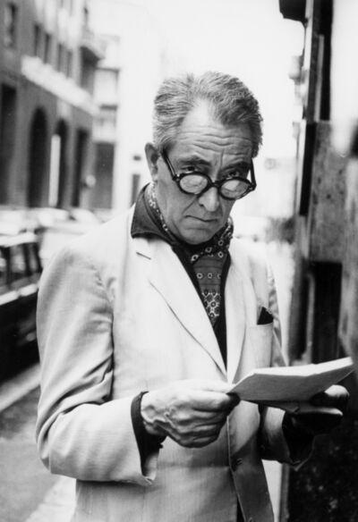 Ugo Mulas, 'Ritratto di Niccolò Tucci', late Sixties