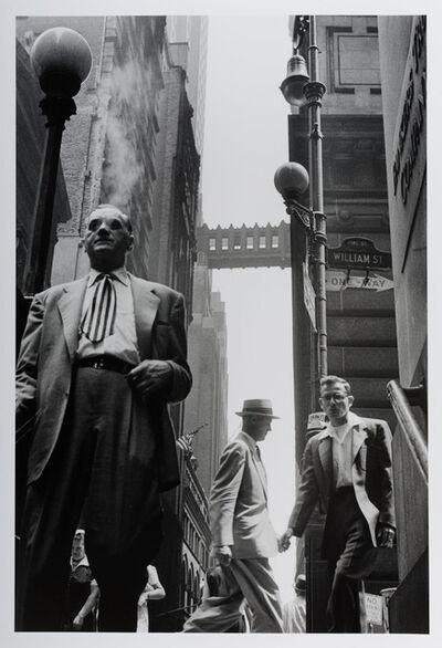 Leonard Freed, 'Wall Street, NYC', 1956