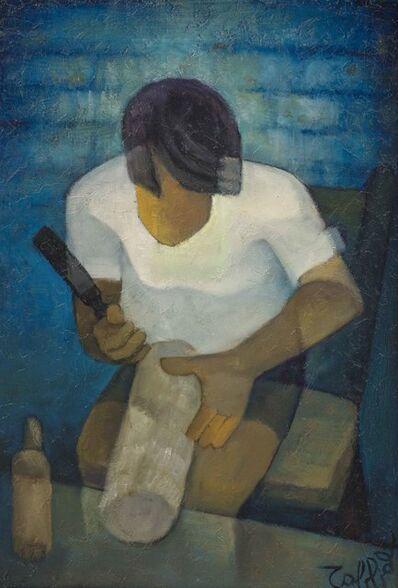 Louis Toffoli, 'Jeune artisan', Peint en 1976