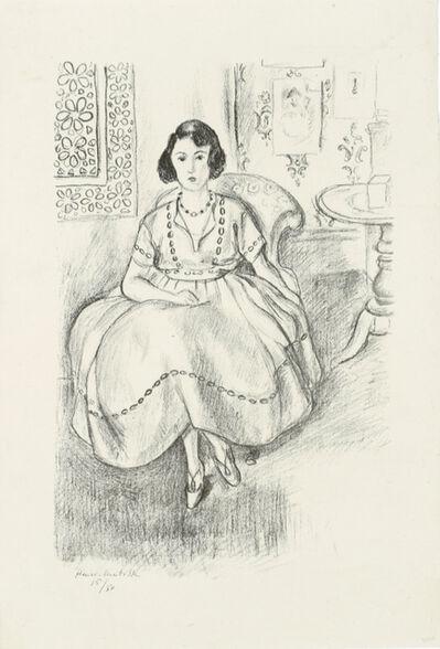 Henri Matisse, 'La robe d'organdi', 1922