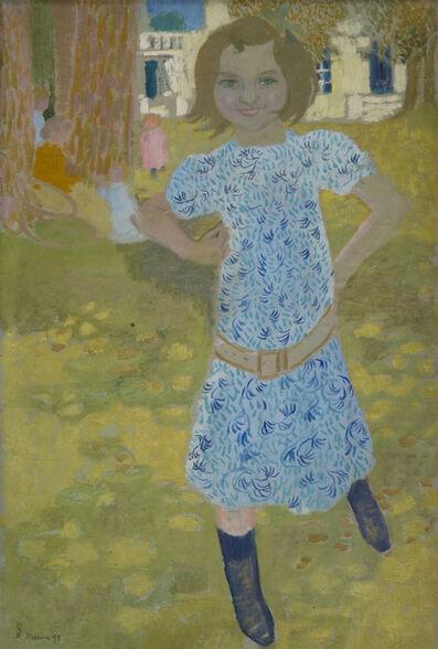 Maurice Denis, 'Portrait de Mlle Fontaine à Mercin', 1898