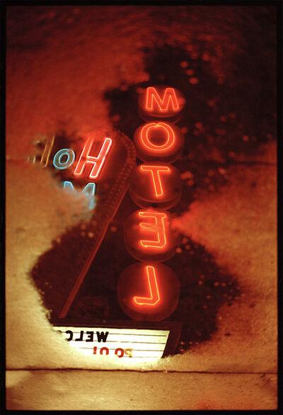 Hunter Barnes, 'Motel sign', 2017