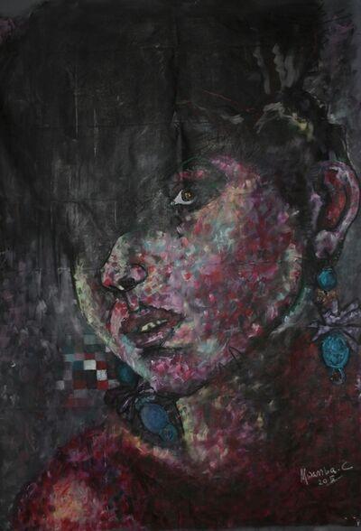 Mwamba Chikwemba, 'Afro-sisters I', 2016