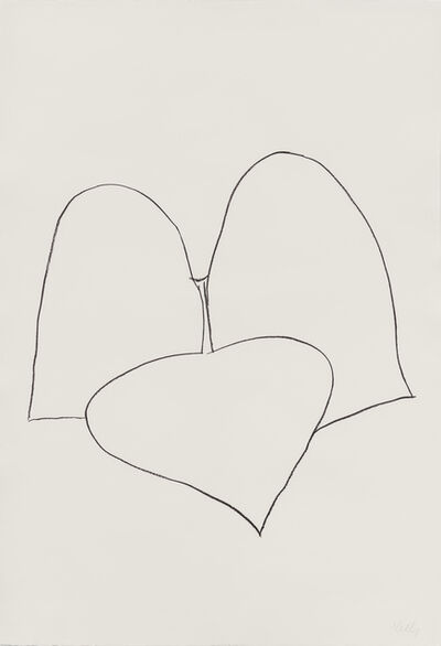 Ellsworth Kelly, 'String Bean Leaves III', 1965-66