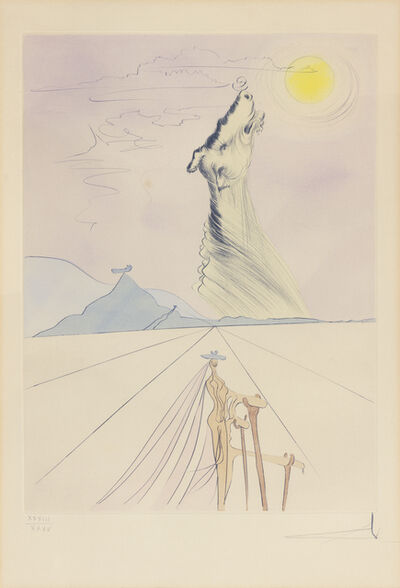 Salvador Dalí, 'Benjamin, from the Twelve Tribes of Israel', 1973