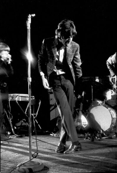 Gered Mankowitz, 'Mick Jagger, Struts. Live U.S.A.  ', 1965