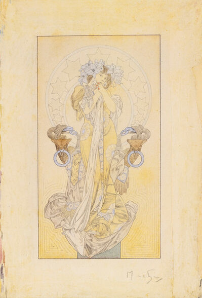 Alphonse Mucha, 'La Princesse Lointaine', circa 1900