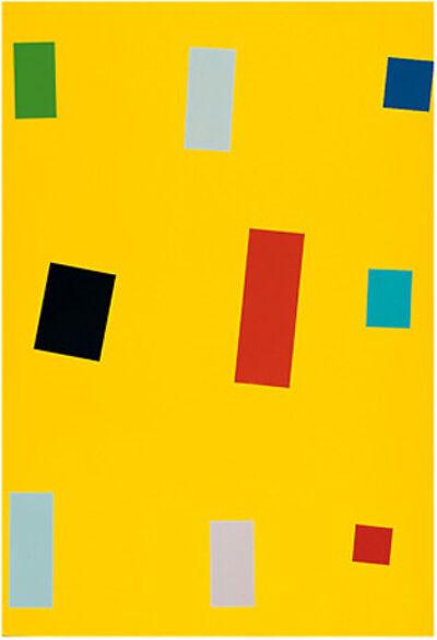 Imi Knoebel, 'Gelbe Fahne', 1999