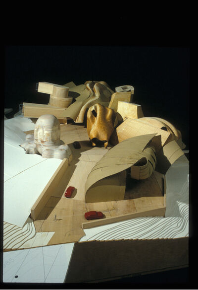 Frank Gehry, 'Lewis Residence Final Model, unbuilt, Lyndhurst, Ohio', 1989-1995