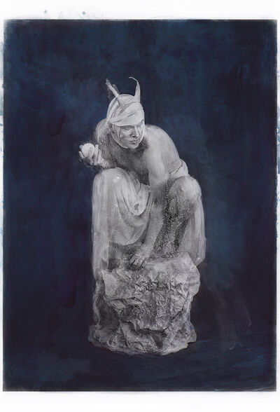 Katie Eleanor, 'St Medard and the Devil', 2019