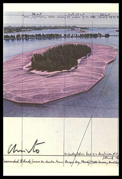 Christo, 'Surrounded Islands, Project for Biscayne (Hand Signed), from the Estate of Jacob and Aviva Baal Teshuva', 1981