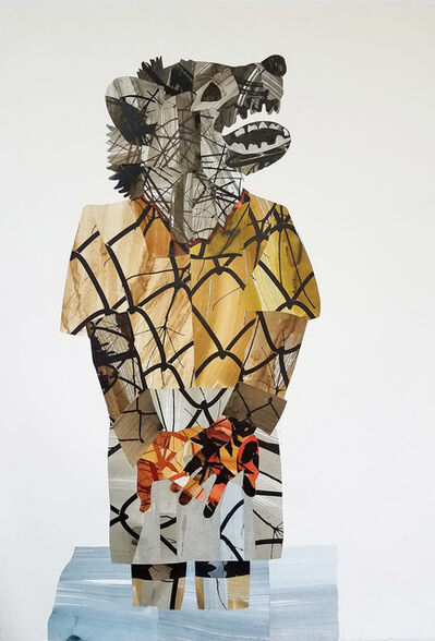 J. D. Perkin, 'Wolf', 2018