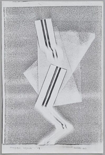 Bruno Munari, 'Xerografia originale', 1967