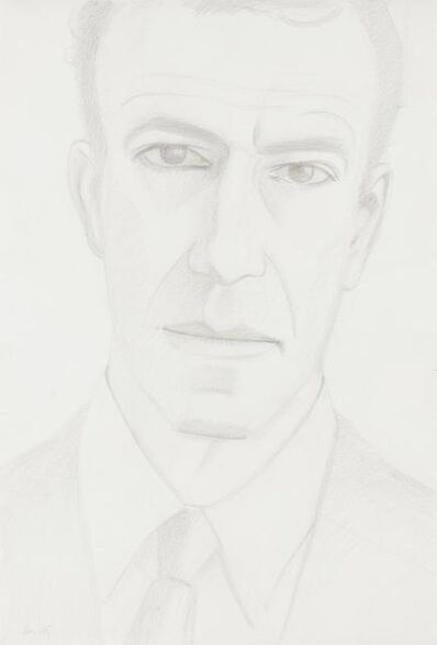 Alex Katz, 'Self Portrait', 1980