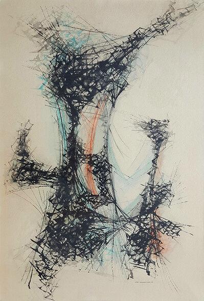 John Sennhauser, '     Improversation #3', 1952
