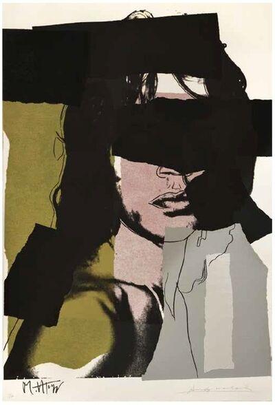 Andy Warhol, 'Andy Warhol, Mick Jagger, Screenprint, 1975', 1975