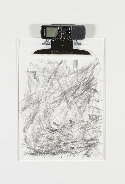 William Anastasi, 'Without Title (Sound Drawing, 5.11.14, 2106)', 2014