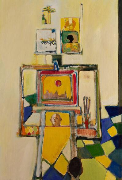 John Ransom Phillips, 'Walt Whitman in the Studio: African Love', 2005