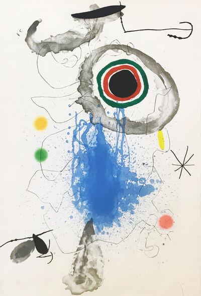 Joan Miró, 'L'ASTRE DU LABYRINTHE', 1967