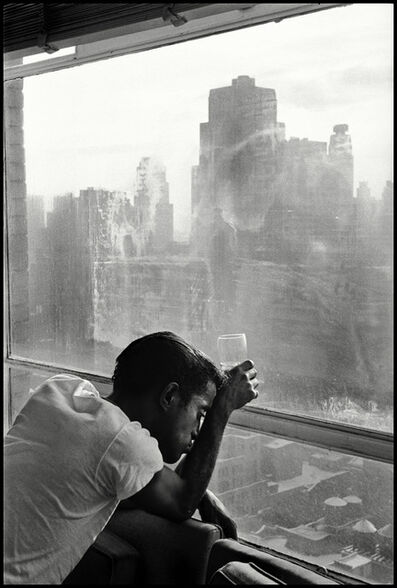 Burt Glinn, 'Sammy Davis Jr. looks out of a Manhattan window. New York', 1959