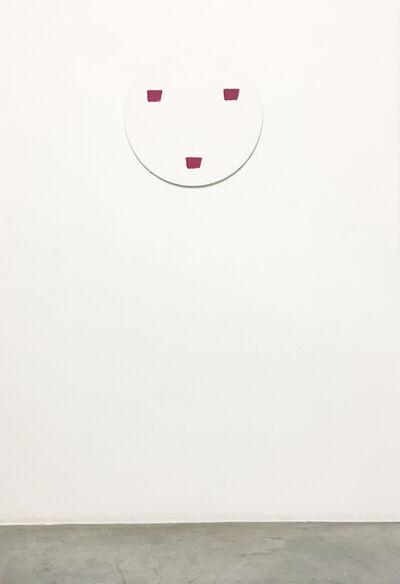 Niele Toroni, 'Empreintes de pinceau n°50 à intervalles réguliers de 30 cm', 1997