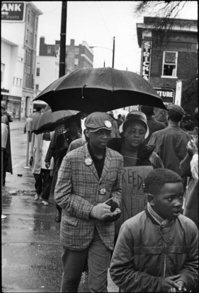 Danny Lyon, 'Hattiesburg, Mississippi, from the Civil Rights portfolio', 1964