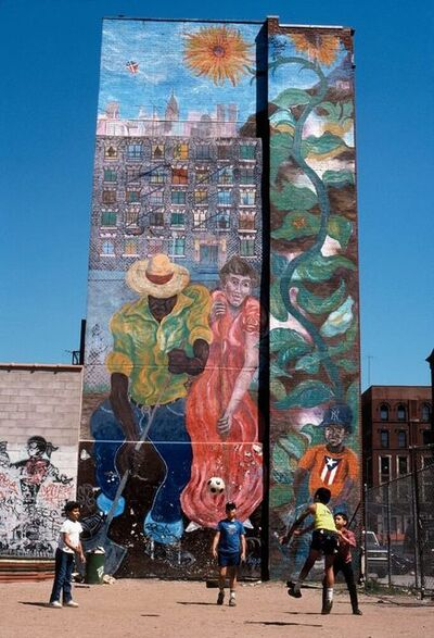 Joseph Rodriguez, 'Kids play, Spanish Harlem, NY', 1988