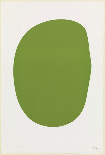 Ellsworth Kelly, 'Green (Vert) from Suite of Twenty-Seven Color Lithograph', 1964-1965