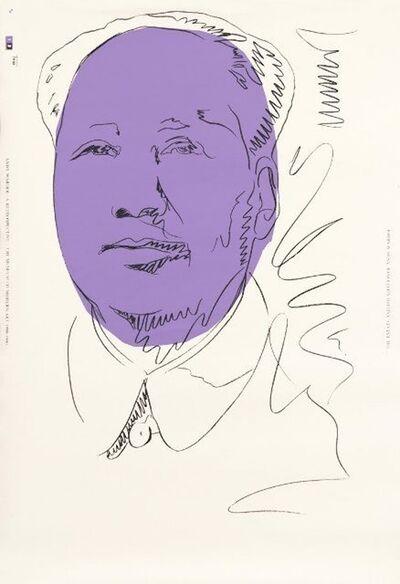 Andy Warhol, 'Mao', 1974/1989