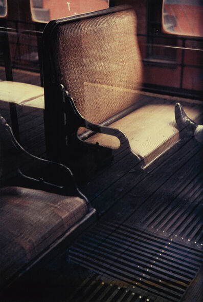 Saul Leiter, 'Foot on the El', 1954-printed later