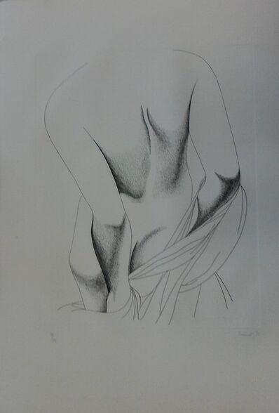 Giacomo Porzano, 'Nude from the Back', 1975