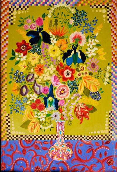 Hepzibah Swinford, 'Flowers in a Morrocan Vase', 2014