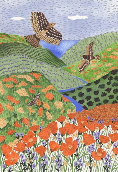 Sara Boccaccini Meadows, 'Poppy Hills', 2021