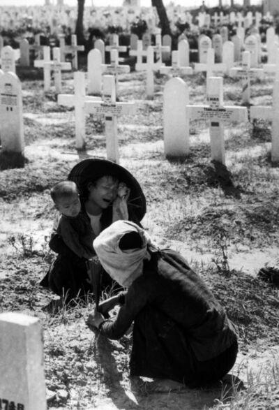 Robert Capa, 'Military cemetery.  Namdinh, Vietnam. ', 1954