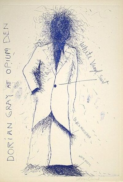 Jim Dine, 'Dorian Gray, Opium', 1990-2000