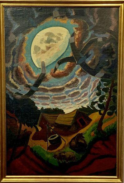 José Cúneo, 'Luna con ranchos y dormilones ', 1944