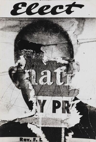 Dennis Hopper, 'Torn Poster (Elect)'