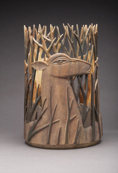 Ron Layport, 'A Gathering of Antlers'
